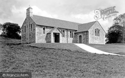 Camelford, Church Of St Thomas 1938