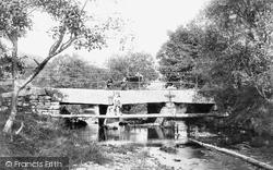 Camelford, Fenteroon Bridge 1895