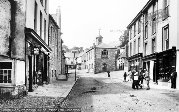 Camelford, Fore Street 1906
