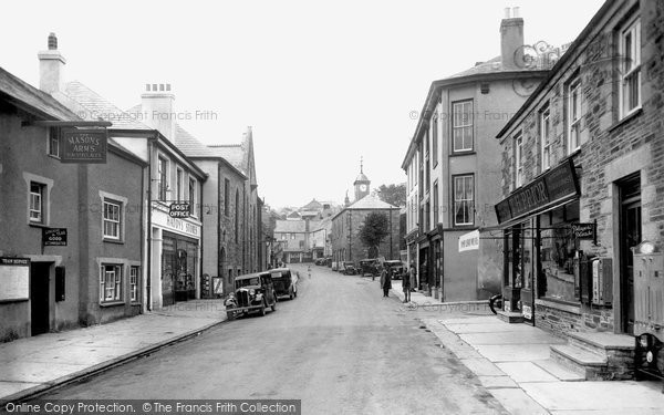 Photo of Camelford, Fore Street 1935
