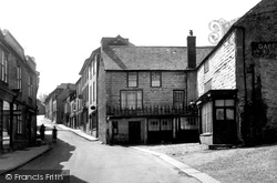 Fore Street c.1900, Camelford
