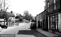 Fore Street c.1950, Camelford