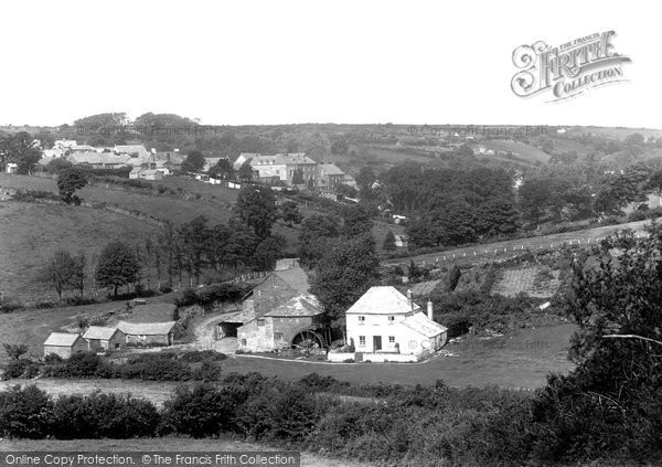 Photo of Camelford, From Outground Mill 1894