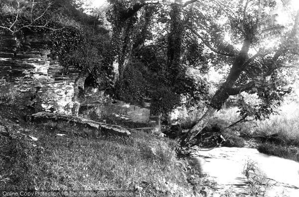 Photo of Camelford, King Arthur's Grave 1906