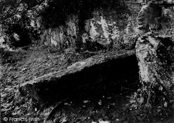 Camelford, King Arthur's Grave c.1872