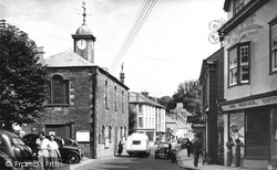 Camelford, Market Place 1952