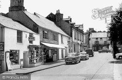 Camelford, Market Place 1960