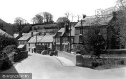 The Bridge c.1950, Camelford
