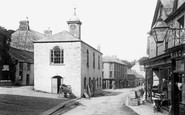 Camelford, Town Hall 1895