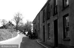 Camelford, View From The Bridge c.1950