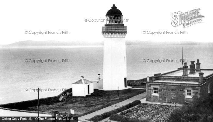 Campbeltown, the Lighthouse, Davaar Island c1955