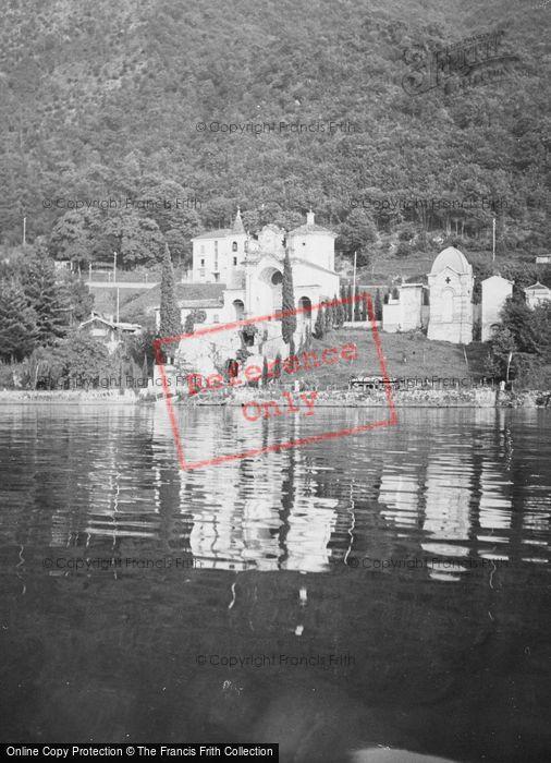 Photo of Campione D'italia, Il Santuario Della Madonna Dei Ghirli c.1935