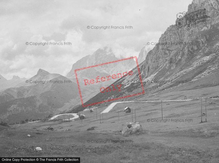Photo of Canazei, Pordoi Pass 1938