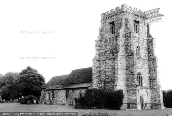Canewdon, the Church c1965, Essex.  (Neg. C236020)  © Copyright The Francis Frith Collection 2005. http://www.francisfrith.com