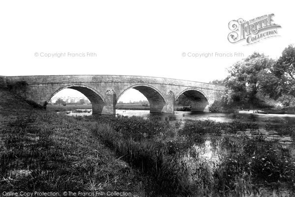 Photo of Canford Magna, Canford Bridge 1899