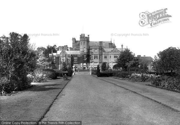 Canford Magna, Canford Manor 1904