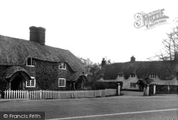 Canford Magna, Old Thatch c.1945