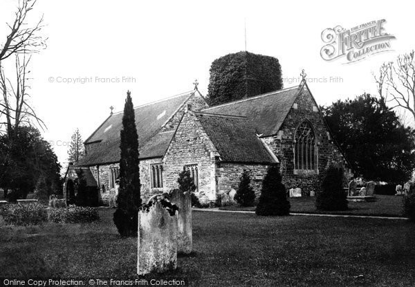 Photo of Canford Magna, Parish Church 1886