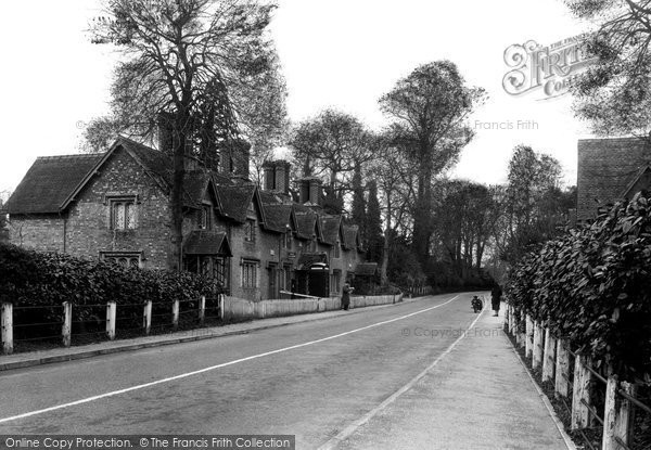 Photo of Canford Magna, Post Office c.1955