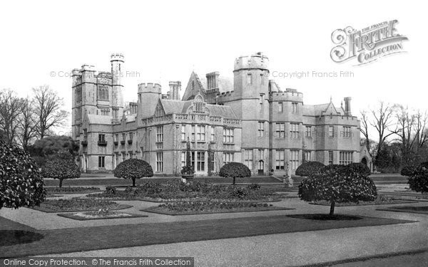 Canford Magna, the Manor c1886