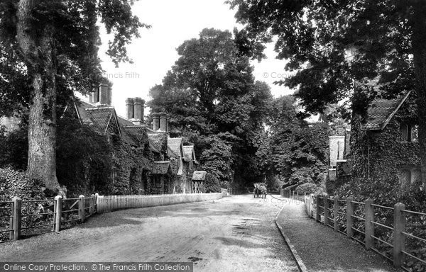 Photo of Canford Magna, Village 1904