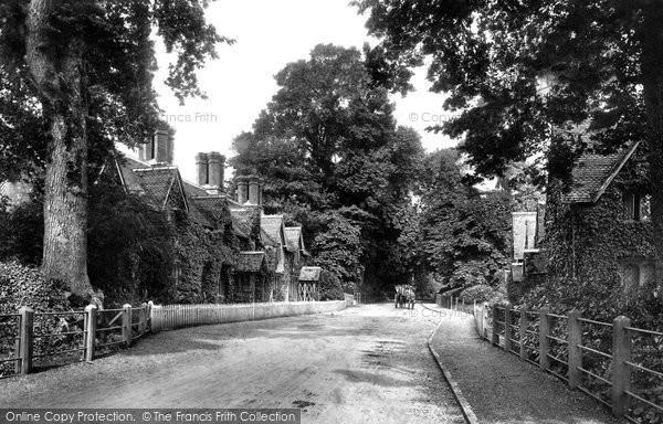 Canford Magna, Village 1904