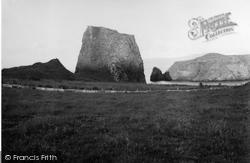 Canna, Coroghon Castle 1957