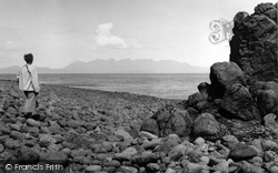 Canna, Looking To Skye 1957