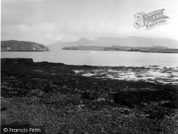 Canna, Looking Towards Rhum 1957