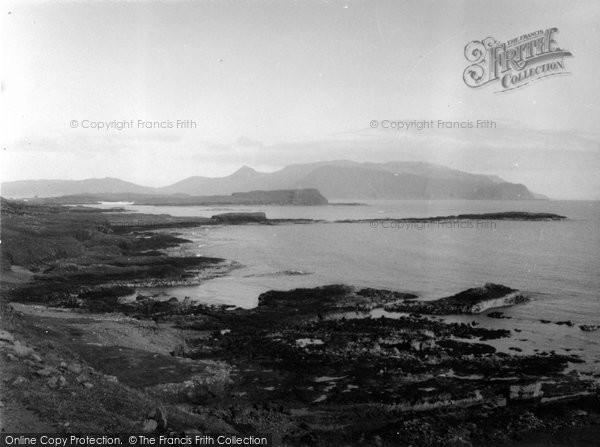 Isle Of Canna, looking towards Rhum 1957