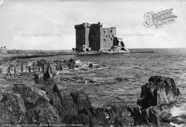 Photo of Cannes, Castle On St Honorat c.1879