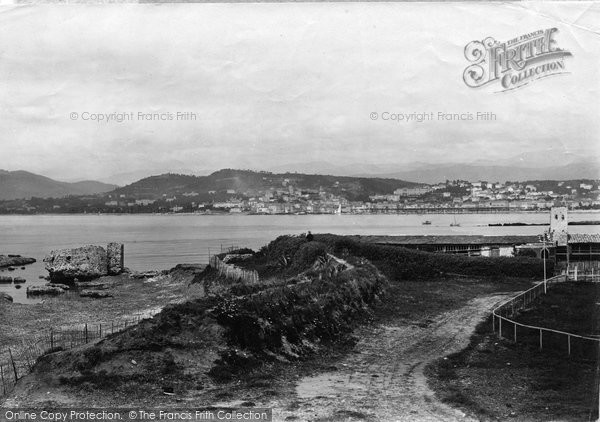 Photo of Cannes, From Croisette 1890