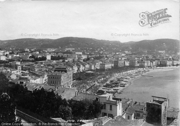 Photo of Cannes, From Mont Chevalier 1890