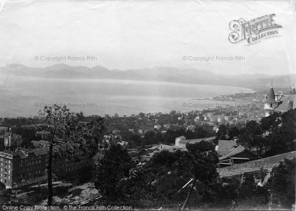 Photo of Cannes, From The Observatory 1890