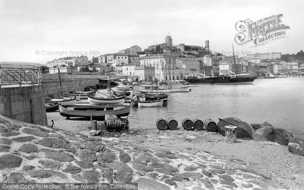 Photo of Cannes, Harbour 1890
