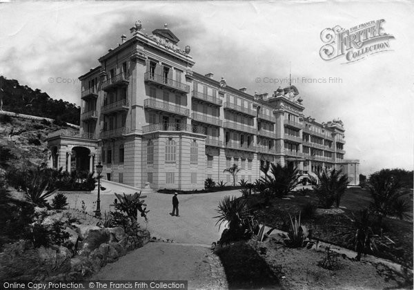 Photo of Cannes, Hotel Metropole 1890