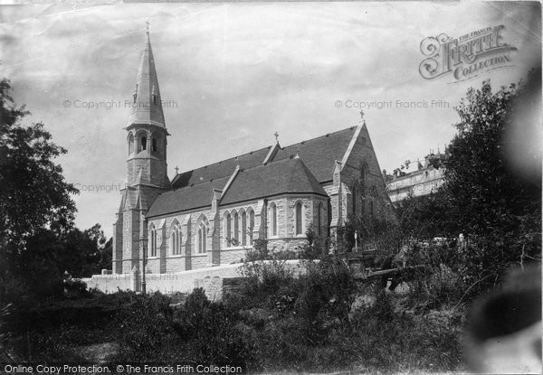 Photo of Cannes, Memorial Chapel 1890