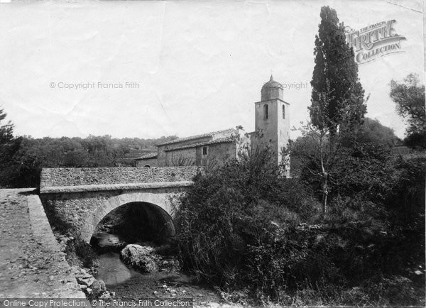 Photo of Cannes, St Jean Church 1890
