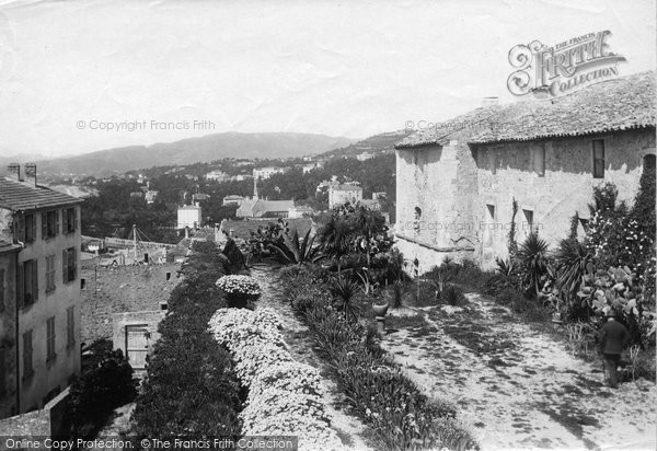Photo of Cannes, View On Mont Chevalier 1890