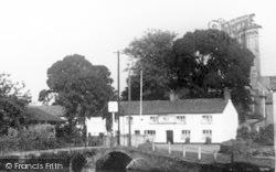 Cannington, Bridge And Church c.1955