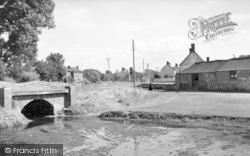 Cannington, The Bridge c.1955