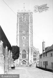 Cannington, The Church c.1955
