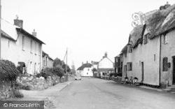 Cannington, The Village c.1955