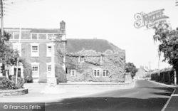 Cannington, War Memorial And Main Road c.1955
