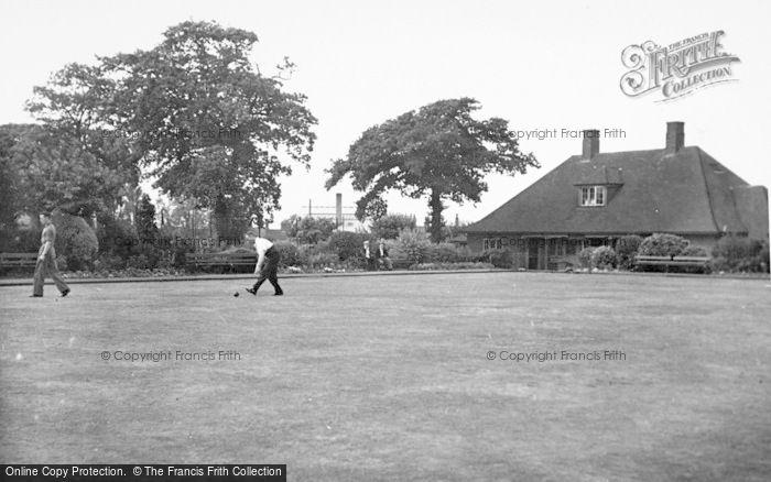 Photo of Cannock, Cannock Park, Bowling Green c.1955