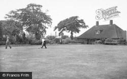 Cannock, Cannock Park, Bowling Green c.1955