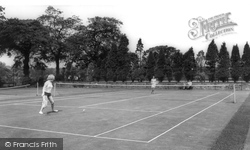 Cannock, Cannock Park, Tennis Courts c.1965