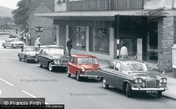 Cannock, Cars In Walsall Road c.1965