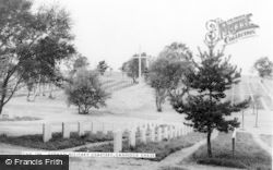 Cannock, Chase, German Military Cemetery c.1965