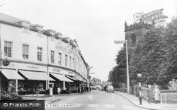 Cannock, Church Street c.1955